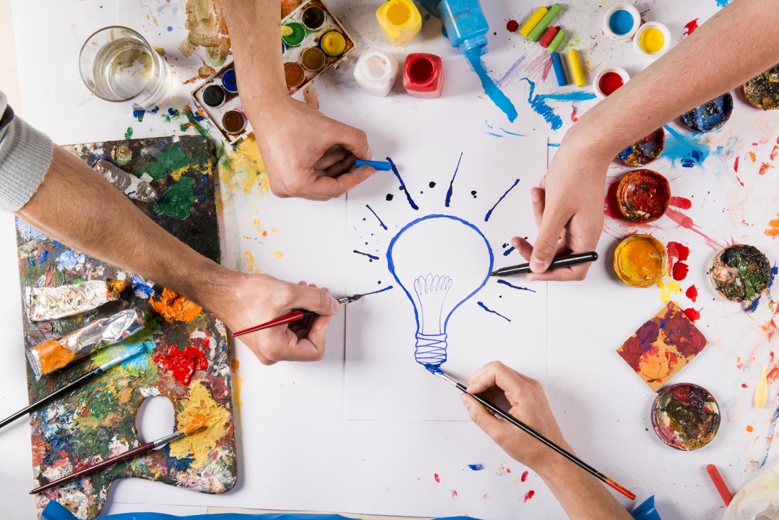 7 mód a kreativitásod továbbfejlesztésére