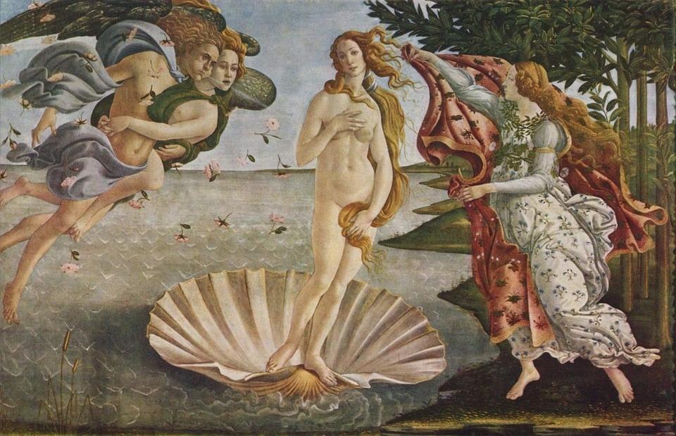 A női test ábrázolása - Top 6 akt kép