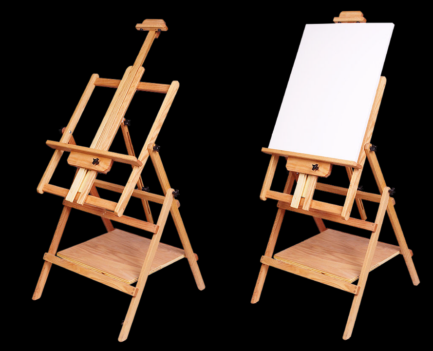 A festőállványból többféle változat is létezik.