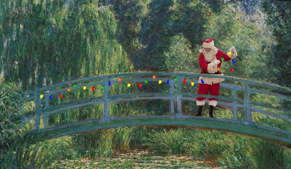 Megdöbbentő karácsonyi festmények