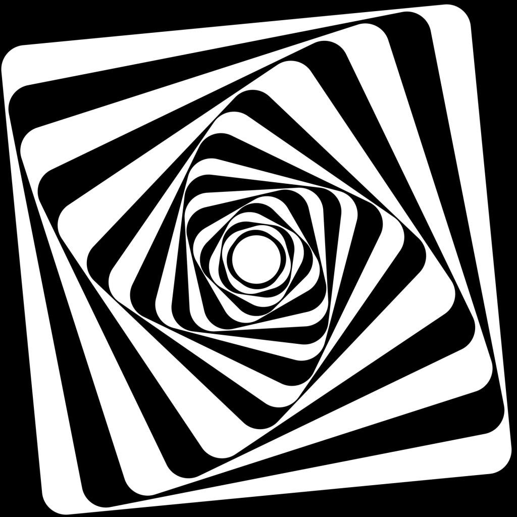 Op-art - geometriai játék haladóknak