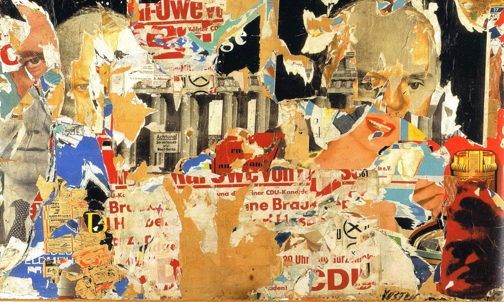 Dadaista festmény - kollázs