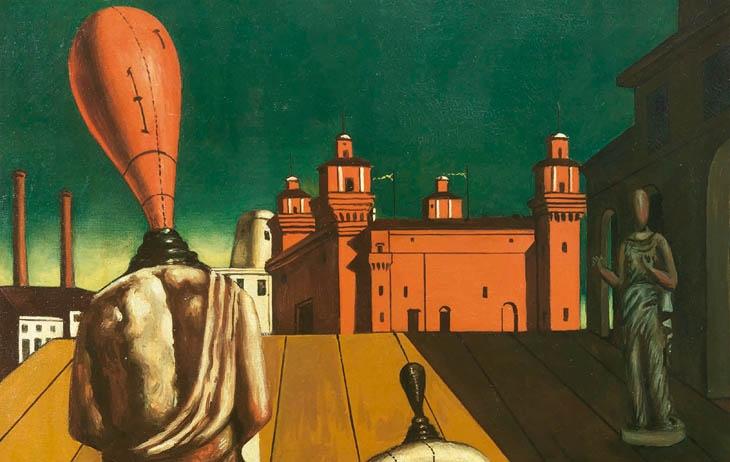 Metafizikus festészet: a szürrealizmus embertelen előszobája