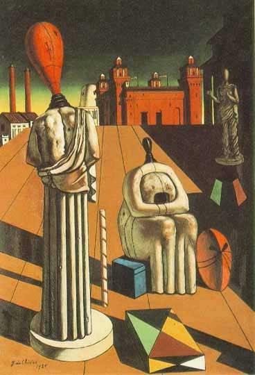 Metafizikus festészet - de Chirico