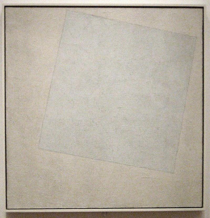 Malevics - szuprematista festmény