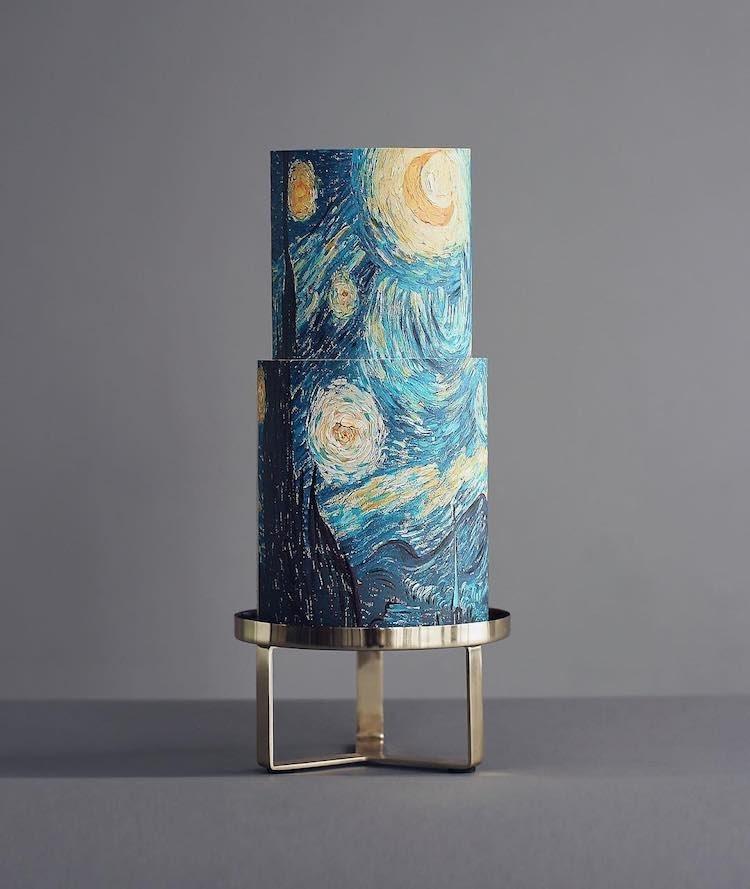 Van Gogh - A csillagos éj tortán