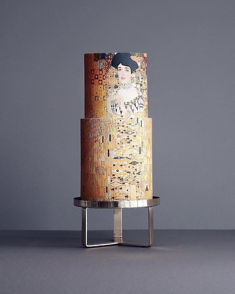 Gustav Klimt - A csók tortán