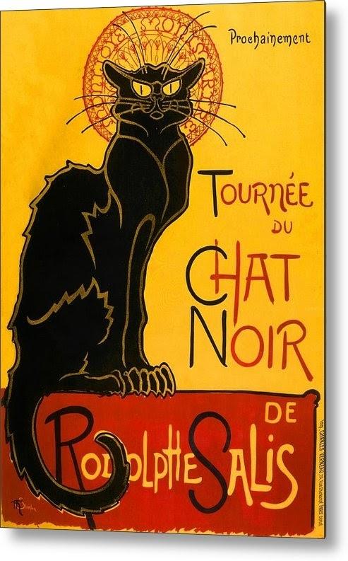 Szecesszió, Toulouse Lautrec - Chat noir