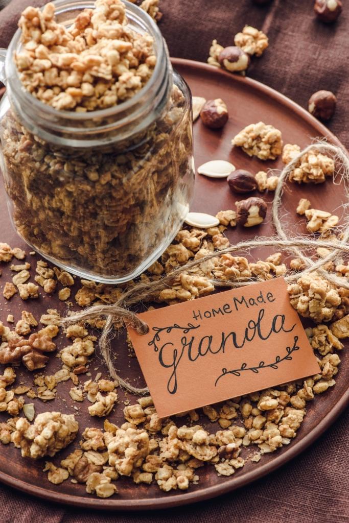Kézzel készített ajándék: házi granola