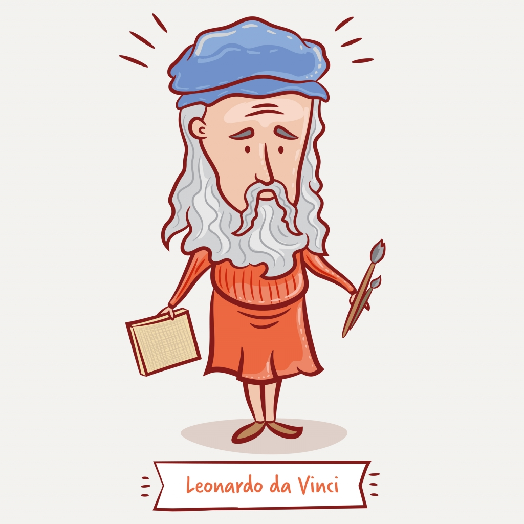 5 fantasztikus faktum, amit talán nem tudtál Leonardo Da Vinciről!