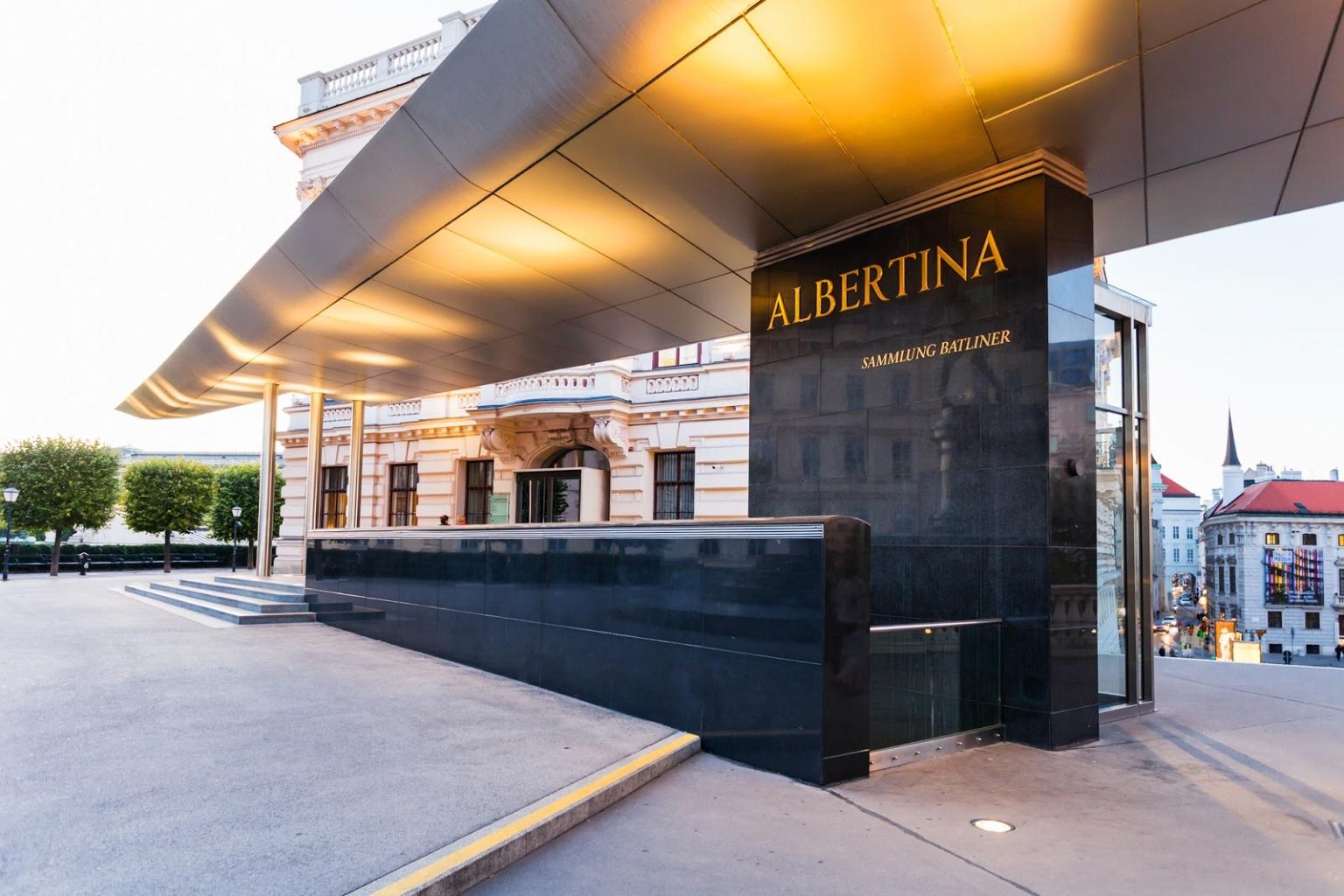 virtuális múzeumi túra - Albertina Múzeum