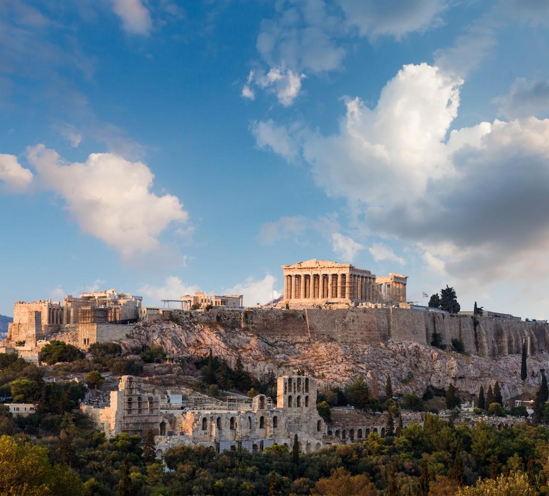 online múzeumi túra - Acropolis