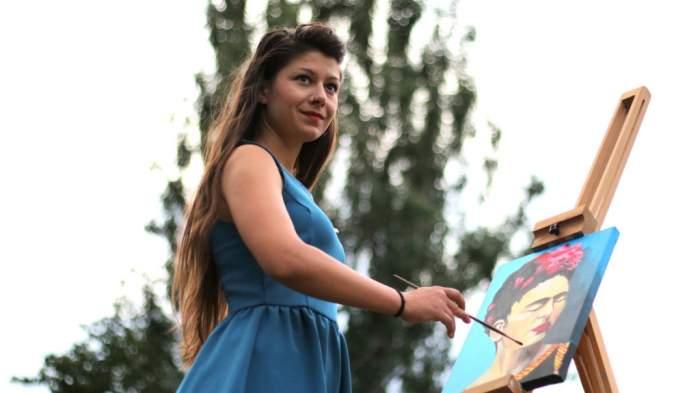 Frida Kahlo élményfestés a Szigeten
