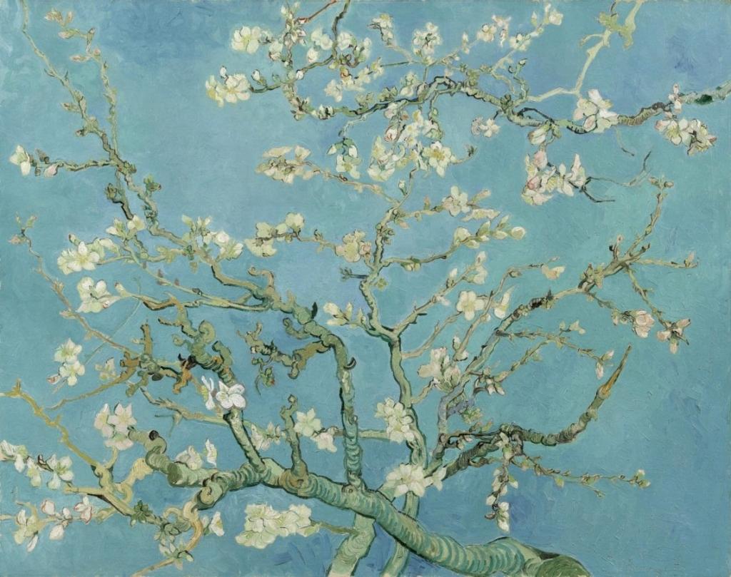 Van Gogh: Mandulavirágzás
