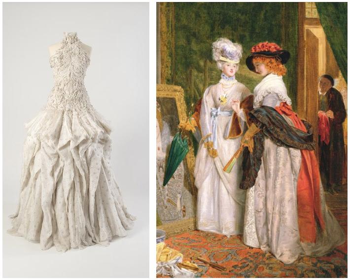 A képzőművészeti stílusok és a divat szerelme, avagy: festői ruhaköltemények