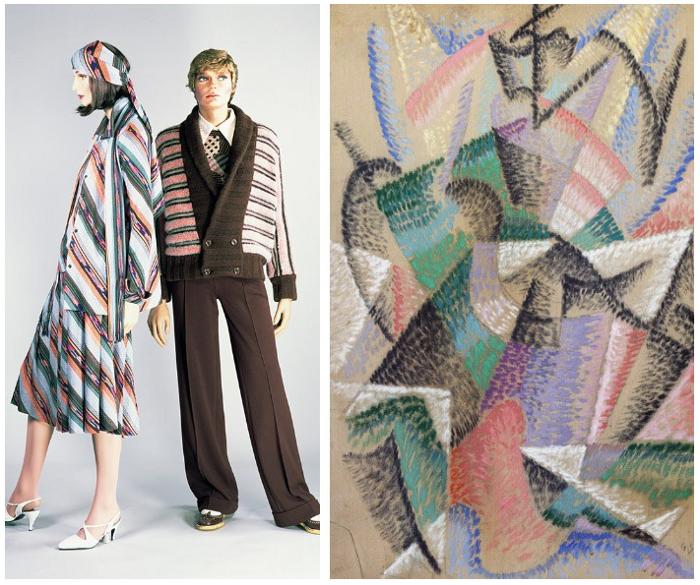 Divat és képzőművészet: Missoni és a futurizmus