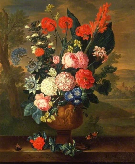 Jacobus van Huysum - Rózsás képek
