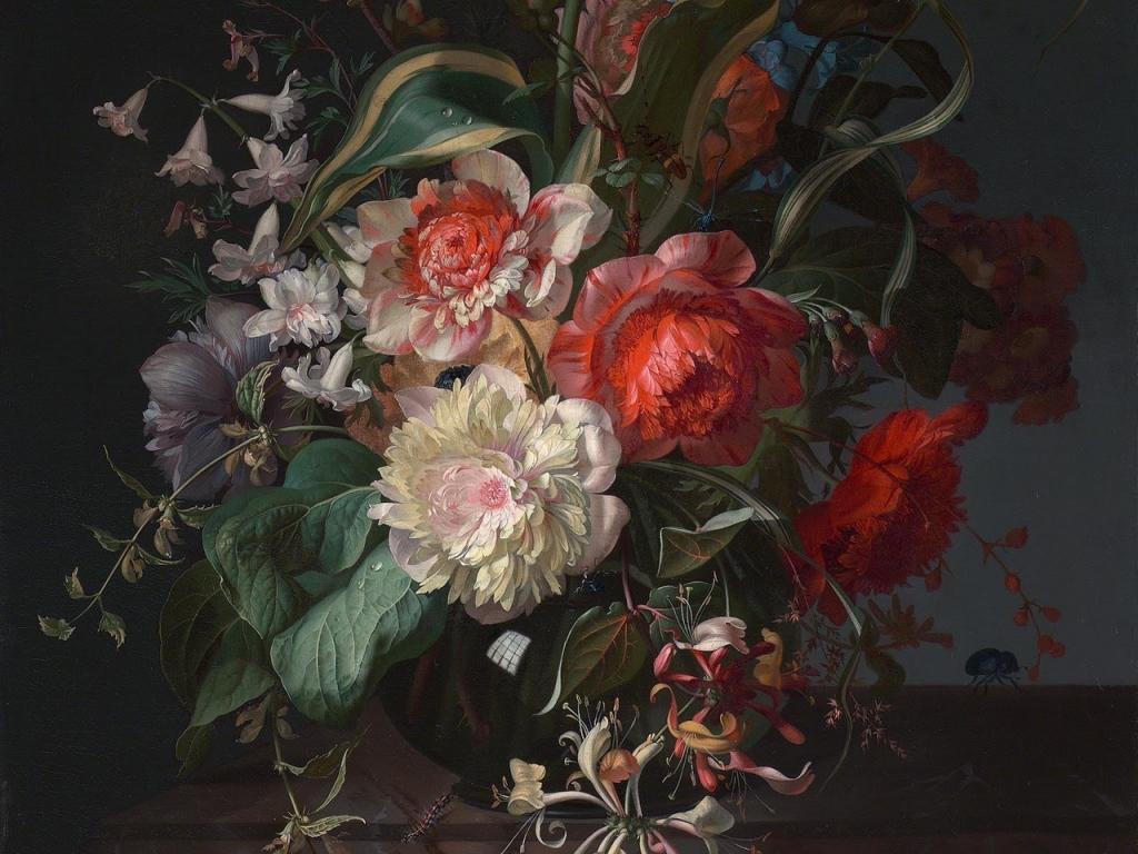 Rachel Ruysch - rózsás képek