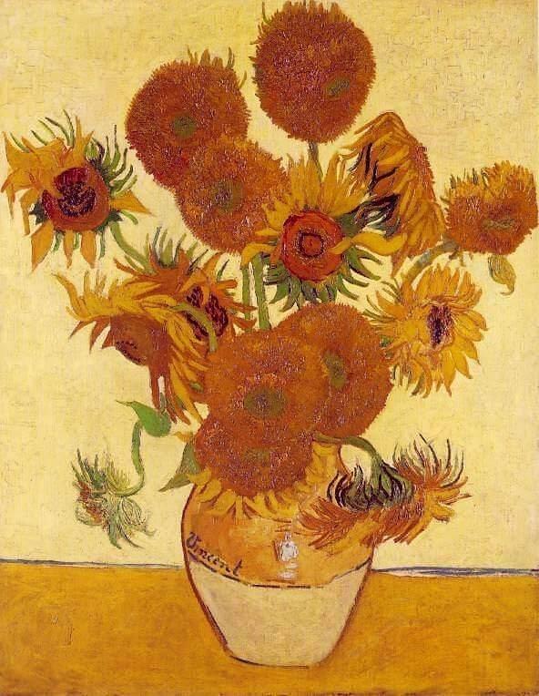 Van Gogh - Napraforgók