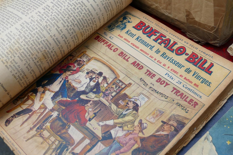 Buffalo Bill újságban