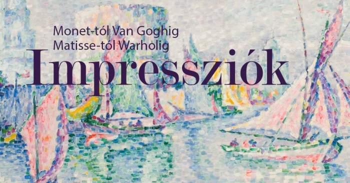 Rendhagyó tárlatvezetés az Impressziók kiállításon