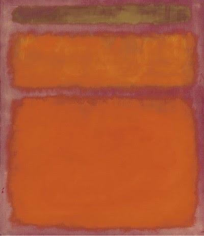 Mark Rothko: Narancs, piros, sárga