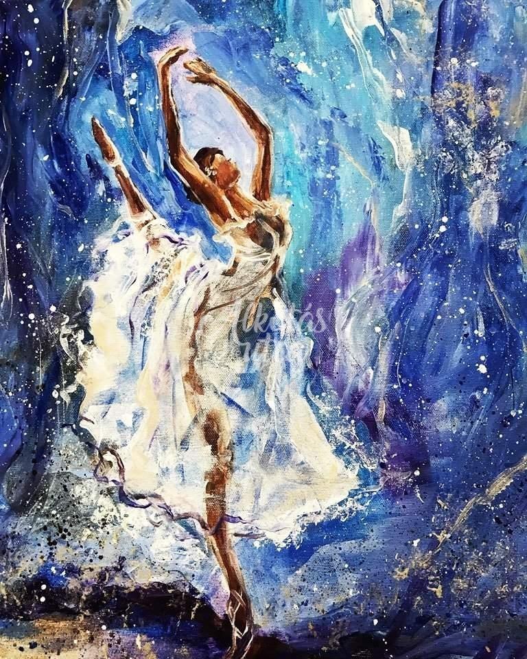 Ismeretlen szerző: Balettáncos