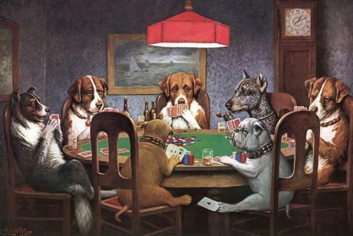 11 dolog, amit nem tudtál a pókerező kutyákról