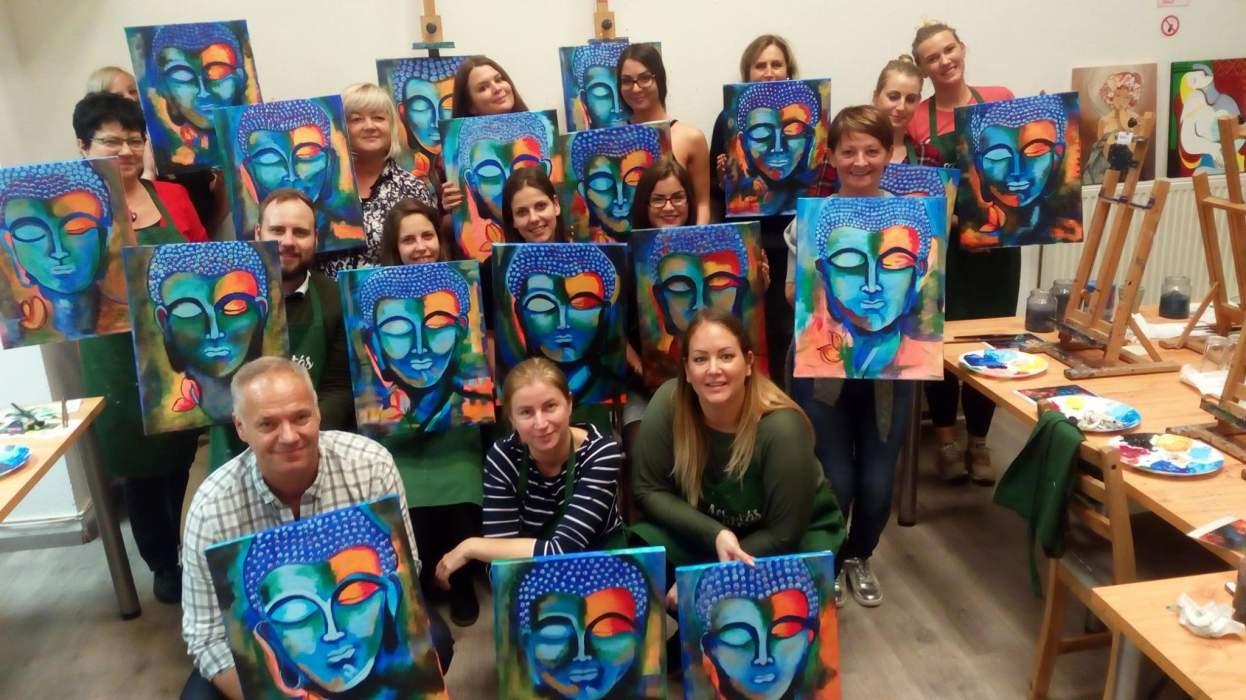 Festészet tapasztalat nélkül? Igen!
