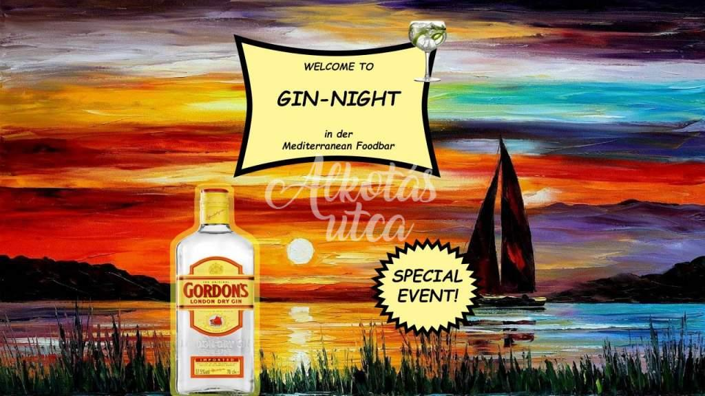 Segelboot - Gin-Night-Special